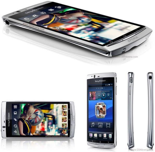 Sony Ericsson Xperia Arc pictures